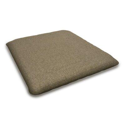 Outdoor Sunbrella Bench Cushion Fabric: Sesame