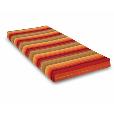 Outdoor Sunbrella Bench Cushion Fabric: Astoria Sunset