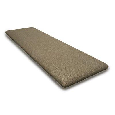 Outdoor Sunbrela Bench Cushion Fabric: Sesame