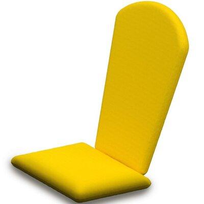 Outdoor Sunbrella Adirondack Chair Cushion Fabric: Sunflower Yellow
