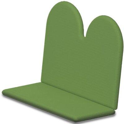 Outdoor Sunbrella Bench Cushion Fabric: Ginkgo