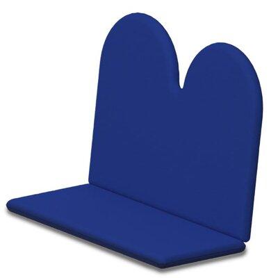 Outdoor Sunbrella Bench Cushion Fabric: Pacific Blue