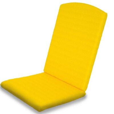 Outdoor Sunbrella Dining Chair Cushion Fabric: Sunflower Yellow