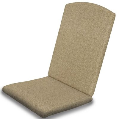 Outdoor Sunbrella Dining Chair Cushion Fabric: Sesame