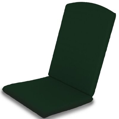 Outdoor Sunbrella Dining Chair Cushion Fabric: Forest Green