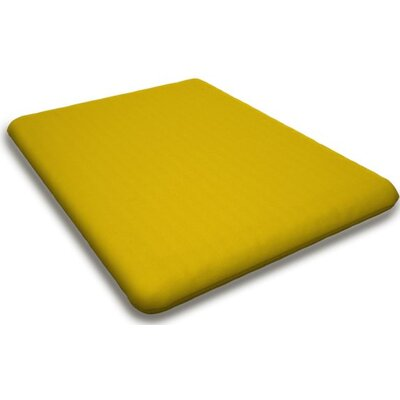 Sunbrella Rocking Chair Cushion Fabric: Sunflower Yellow