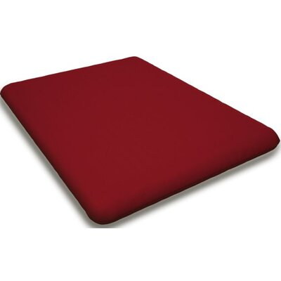 Sunbrella Rocking Chair Cushion Fabric: Logo Red