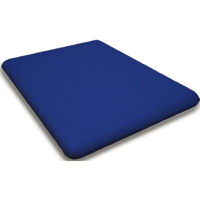 Sunbrella Rocking Chair Cushion Fabric: Pacific Blue