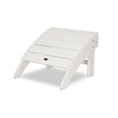 Palm Coast Ottoman Finish: White