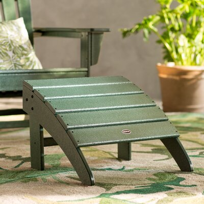 Palm Coast Ottoman Finish: Green