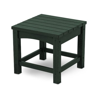 Club Side Table Finish: Green