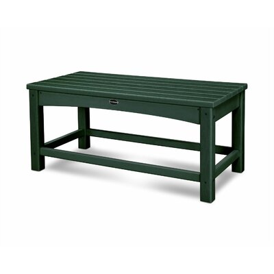 Club Coffee Table Finish: Green