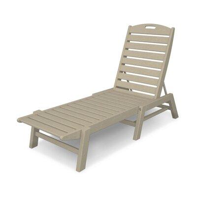 Nautical Chaise Lounge  Finish: Sand