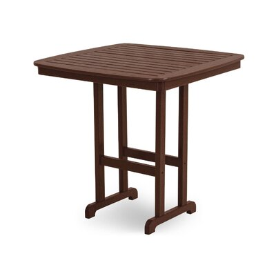 Nautical Bar Table Finish: Mahogany