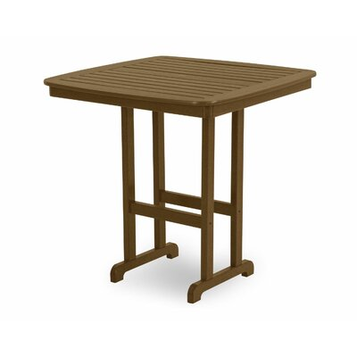 Nautical Bar Table Finish: Teak