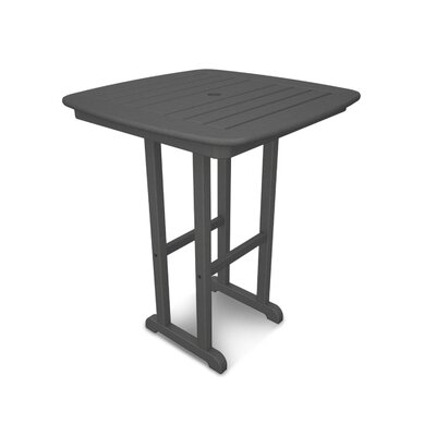 Nautical Bar Table Finish: Slate Grey