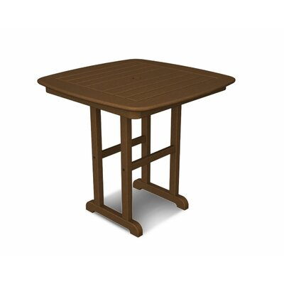 Nautical Dining Table Finish: Teak