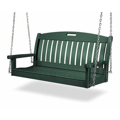 Nautical Porch Swing Finish: Hunter Green