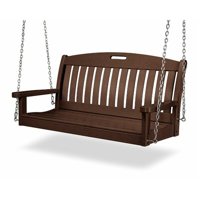 Nautical Porch Swing Finish: Mahogany