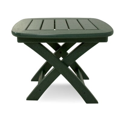 Nautical Side Table Finish: Hunter Green