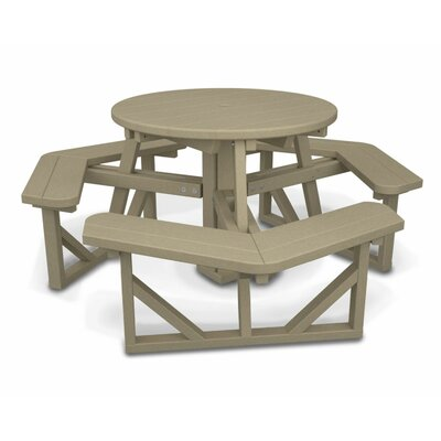 Park Picnic Table Finish: Sand