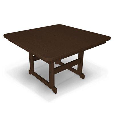 Park Dining Table Finish: Mahogany