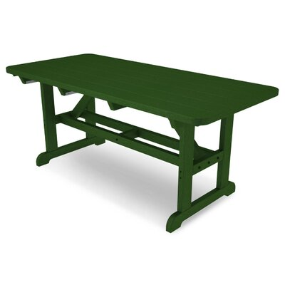 Park Picnic Table Finish: Green