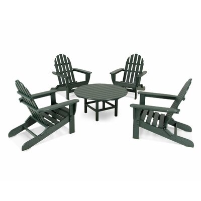 Adirondack 5 Piece Set Finish: Green
