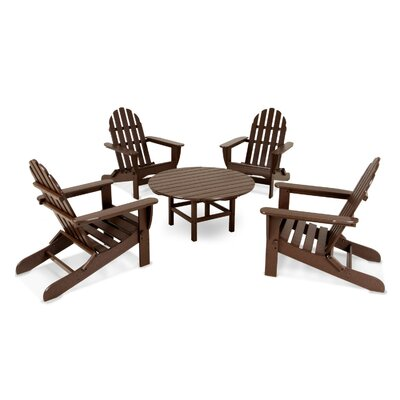 Adirondack 5 Piece Set Finish: Mahogany