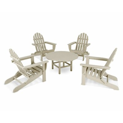 Adirondack 5 Piece Set Finish: Sand