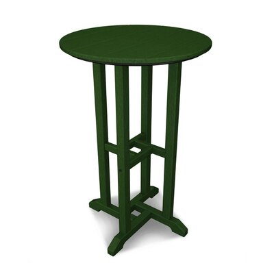 Traditional Bar Table Finish: Green