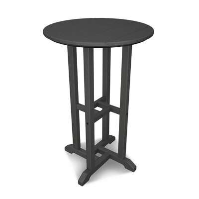 Traditional Bar Table Finish: Slate Grey