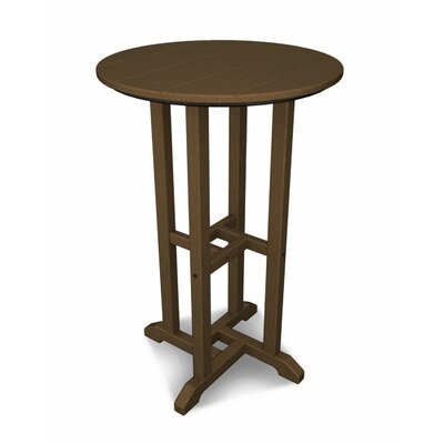 Traditional Bar Table Finish: Teak