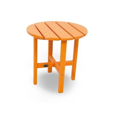 Side Table Finish: Tangerine