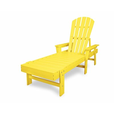 South Beach Chaise Lounge Finish: Lemon