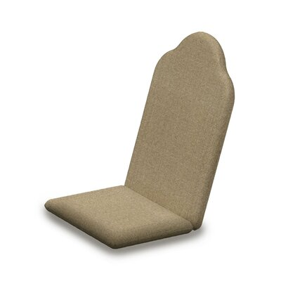 Outdoor Sunbrella Adirondack Chair Cushion Fabric: Sesame