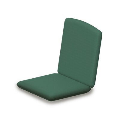 Outdoor Sunbrella Dining Chair Cushion Fabric: Spa