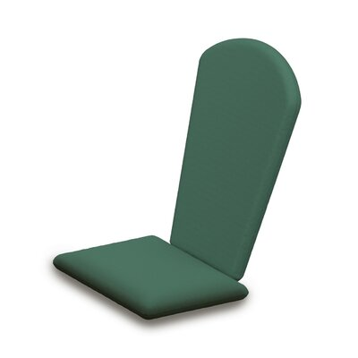 Outdoor Sunbrella Adirondack Chair Cushion Fabric: Spa