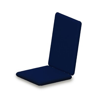 Outdoor Sunbrella Adirondack Chair Cushion Fabric: Navy