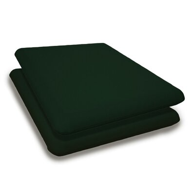 Outdoor Sunbrella Adirondack Chair Cushion Fabric: Forest Green