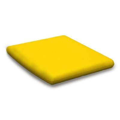 Outdoor Sunbrella Barstool Cushion Fabric: Sunflower Yellow
