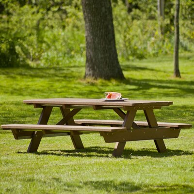 Park Picnic Table Finish: Teak