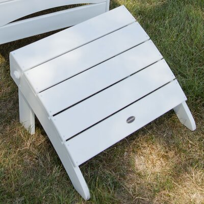 Adirondack Ottoman Finish: White