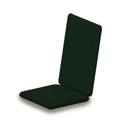 Outdoor Sunbrella Adirondack Chair Cushion Fabric: Forest Green