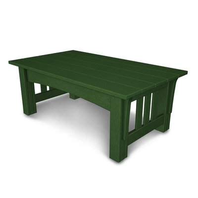 Mission Coffee Table Finish: Green
