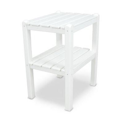 12 Shelf Side Table Finish: White