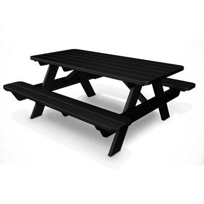 Park Picnic Table Finish: Black