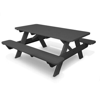Park Picnic Table Finish: Slate Grey