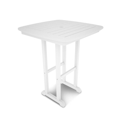 Nautical Bar Table Finish: White