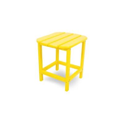 South Beach Side Table Finish: Lemon, Table Size: 18